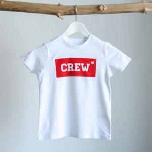 Crew T-Shirt Weiß