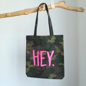 Hey Tote Bag Einkaufstasche