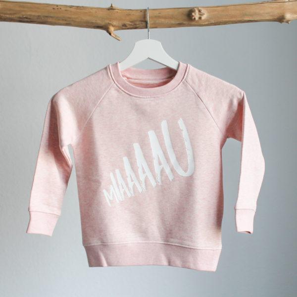 Sweatshirt Rosé Miau