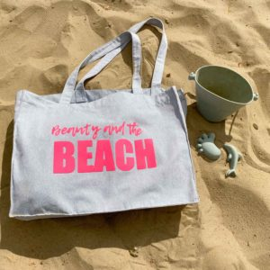 Strandtasche Beauty and the Beach