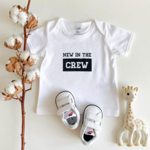 New in the Crew Babyshirt