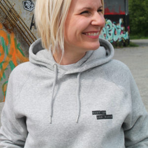 Shut up and dance Hoodie Grau