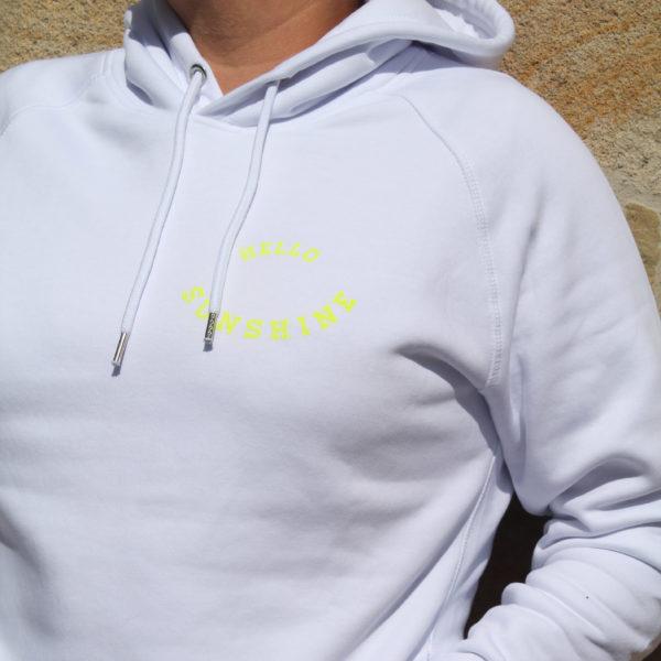 Hello Sunshine Hoodie Neon