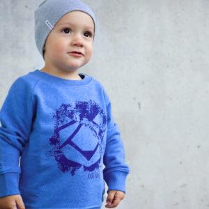 Smash Kinder Sweatshirt Blau